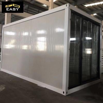 20ft flat pack container prefabricated house untuk office / asrama